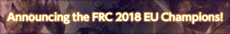 Announcing the FRC 2018 EU Champions!