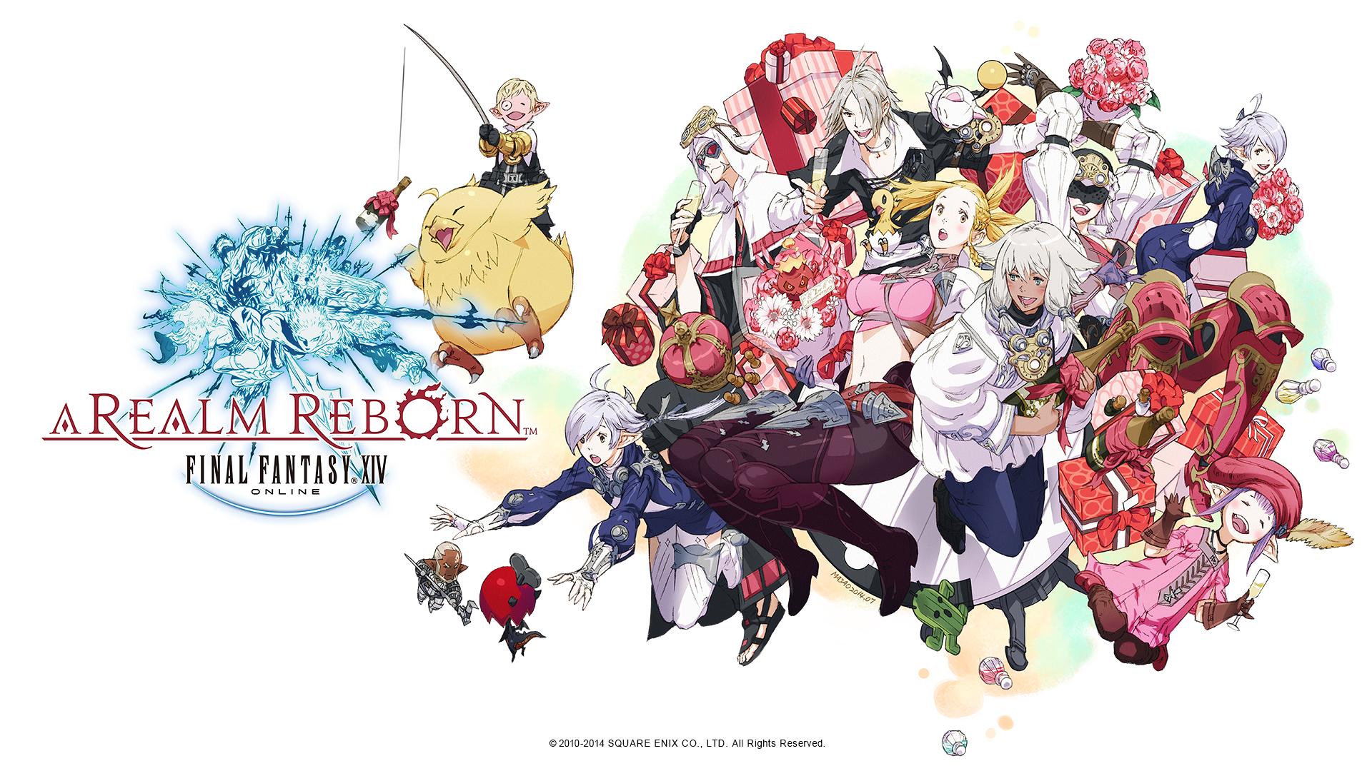 Final Fantasy Fan Art Background