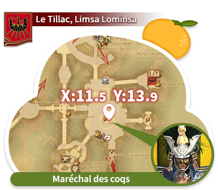 Limsa Lominsa - Le Tillac Maréchal des coqs
