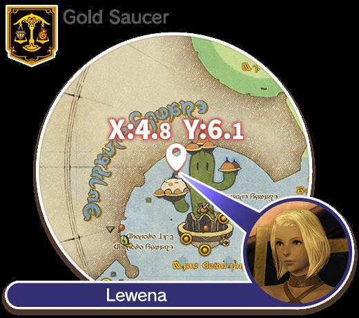Gold Saucer (4.8, 6.1) Lewena