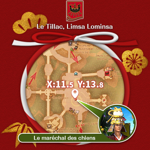 Limsa Lominsa - Le Tillac Le maréchal des chiens