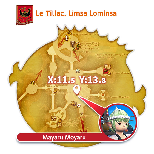 Limsa Lominsa - Le Tillac Mayaru Moyaru