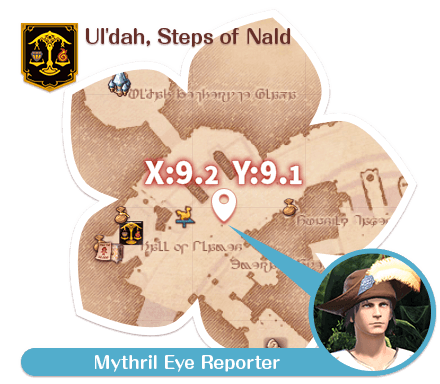 Ul'dah - Steps of Nald Mythril Eye Reporter