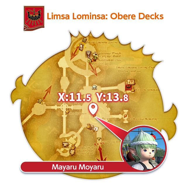 Limsa Lominsa: Obere Decks Mayaru Moyaru