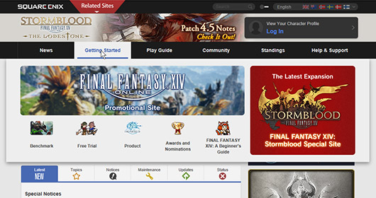 The Lodestone Update Notes   FINAL FANTASY XIV, The Lodestone