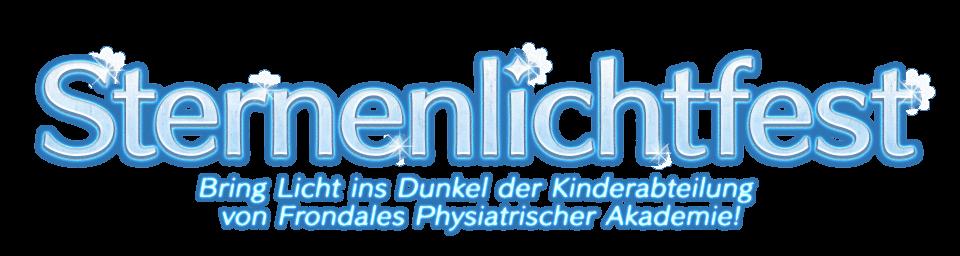 Sternenlichtfest Bring Licht ins Dunkel der Kinderabteilung von Frondales Physiatrischer Akademie!