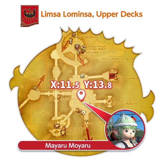 Limsa Lominsa, Upper Decks Mayaru Moyaru