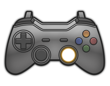 Push in the right analog stick
