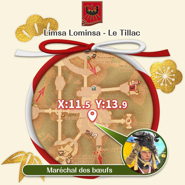 Limsa Lominsa - Le Tillac Maréchal des bœufs