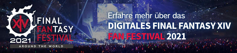 Erfahre mehr über das<br />FINAL FANTASY XIV<br />Digital Fan Festival 2021