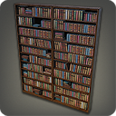 Eorzea Database Mounted Bookshelf