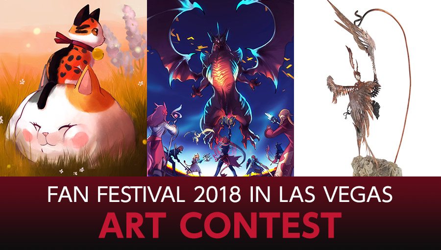 Fan Festival 2018 in Las Vegas Art Contest