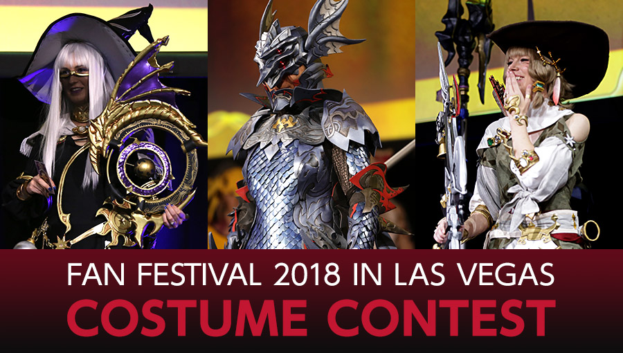 Fan Festival 2018 in Las Vegas Costume Contest