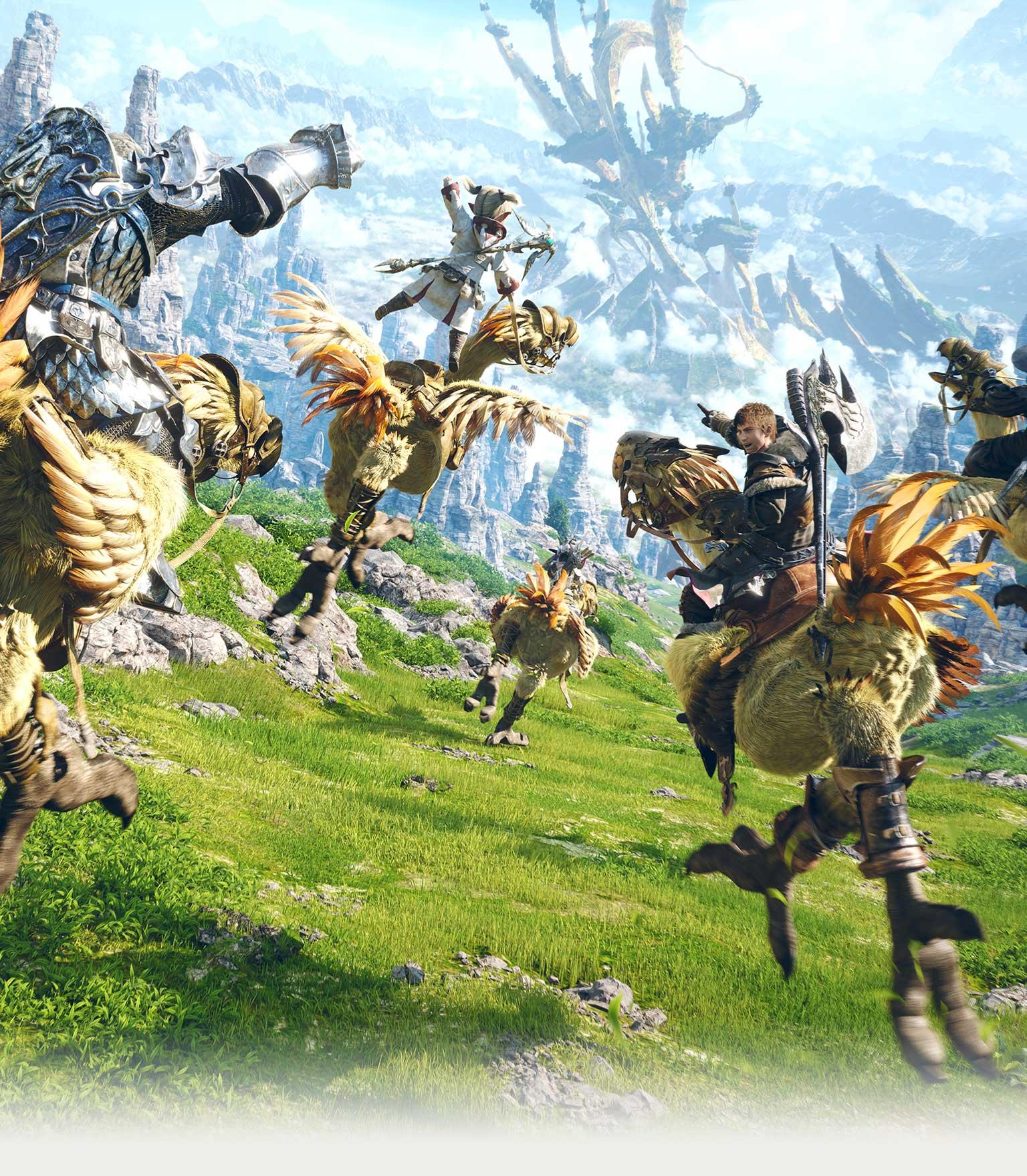 Final Fantasy Xiv Promotional Site