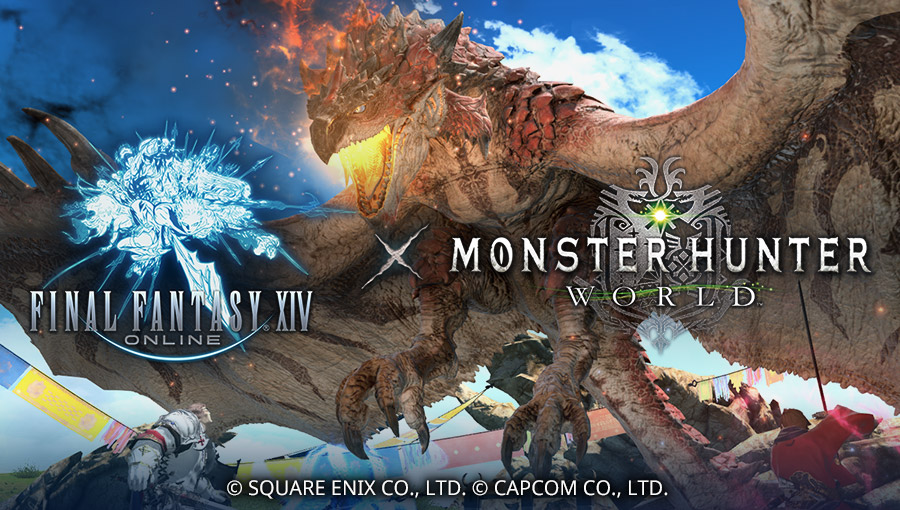 FINAL FANTASY XIV & MONSTER HUNTER: WORLD