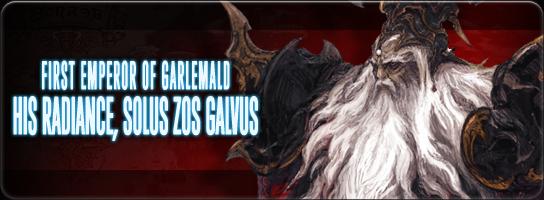 His Radiance, Solus zos Galvus