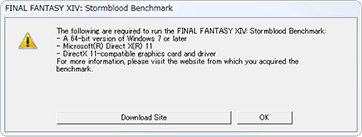 code 10 directx error ffxiv