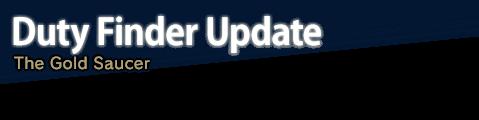 Duty Finder Update The Gold Saucer