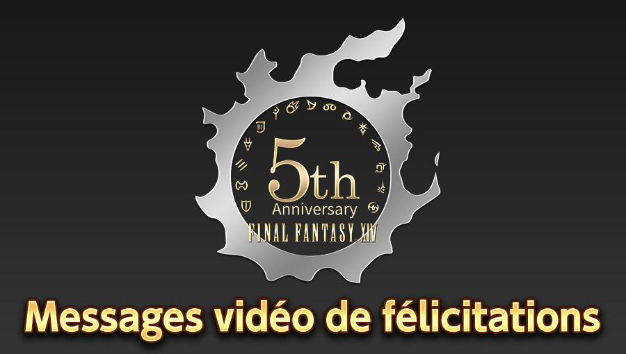 Messages vidéo de félicitations