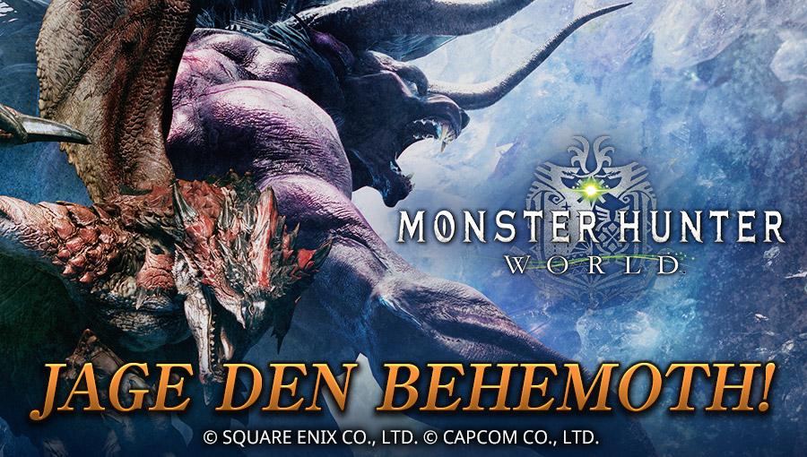 MONSTER HUNTER: WORLD JAGE DEN BEHEMOTH!