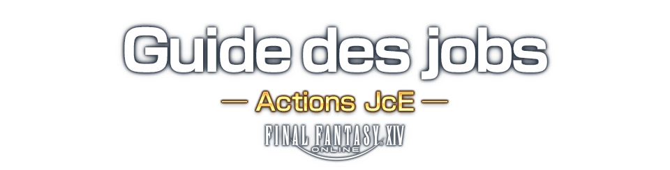 Guide des jobs Actions JcE