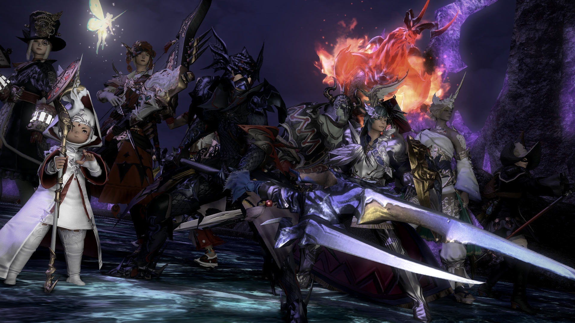 final fantasy 14 is a similar game to sword art online
