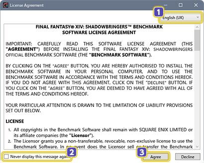 FINAL FANTASY XIV: Shadowbringers Official Benchmark