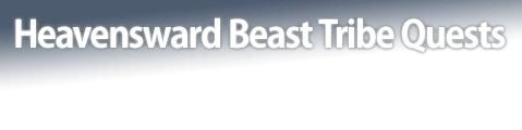 Heavensward Beast Tribe Quests