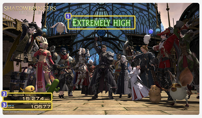 FINAL FANTASY XIV: Shadowbringers Official Benchmark
