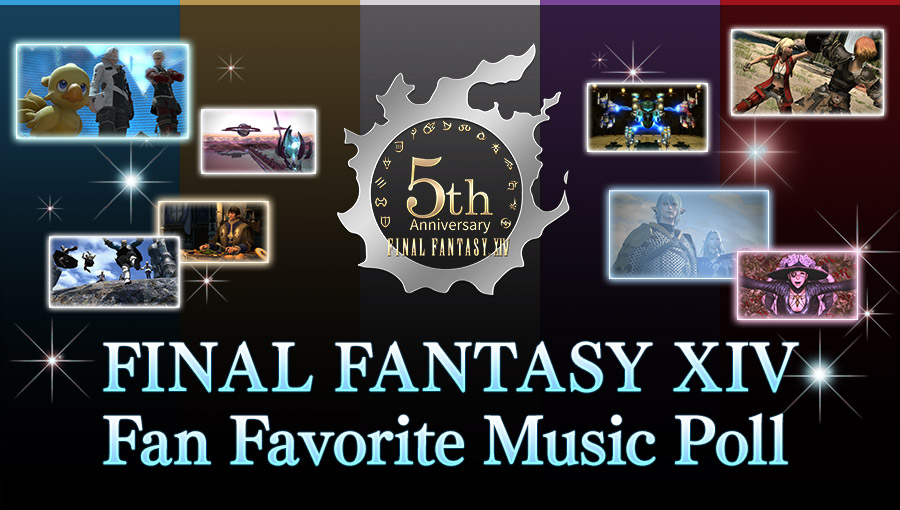 FINAL FANTASY XIV Fan Favorite Music Poll