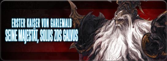 Seine Majestät, Solus zos Galvus