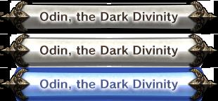 Odin, the Dark Divinity