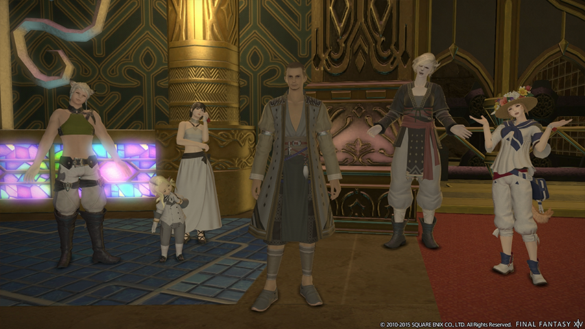 FINAL FANTASY XIV: A Realm Reborn | Before the Fall