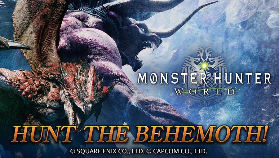 MONSTER HUNTER: WORLD HUNT THE BEHEMOTH!