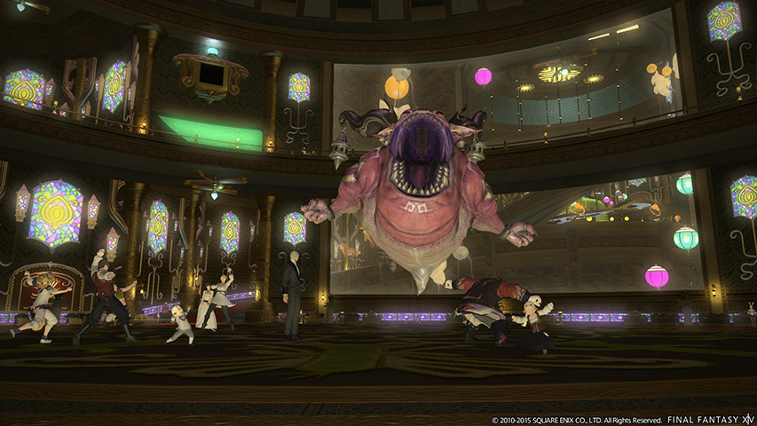 the gold saucer ff14