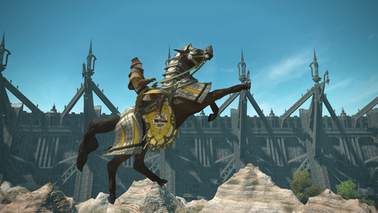 FFXIV Air Force Mount with music and sounds