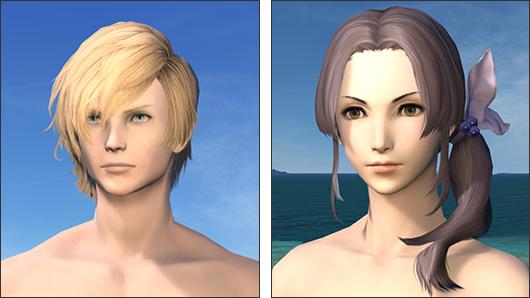 [2.0] 新たな髪型が追加されます。