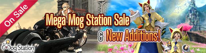 New Optional Items & Mega Mog Station Sale! | FINAL FANTASY