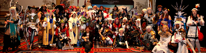 Announcing the Eorzean Symphony Hollywood Red Carpet Cosplay