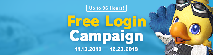 Free Login Campaign | FINAL FANTASY XIV, The Lodestone