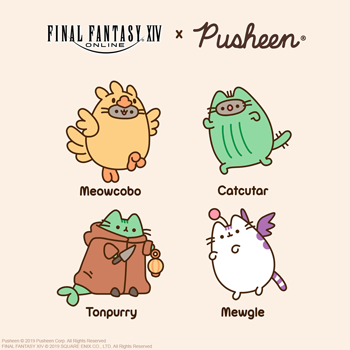 FINAL FANTASY XIV Teams up with Pusheen! | FINAL FANTASY XIV