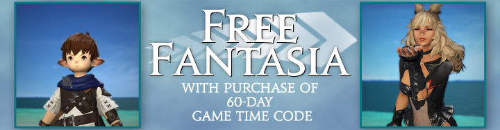 Get a Free Fantasia with Purchase of 60-Day Game Time Code for a