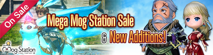 Mog Station Login >> New Optional Items Mega Mog Station Sale Final Fantasy Xiv The