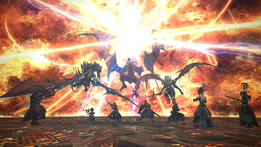 The Unending Coil of Bahamut (Ultimate), a harder version of a previous FFXIV raid.