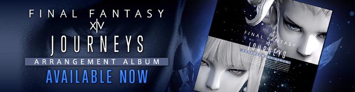 Journeys: FINAL FANTASY XIV Arrangement Album Now Available