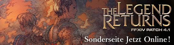 Patch 4.1—The Legend Returns Sonderseite Jetzt Online
