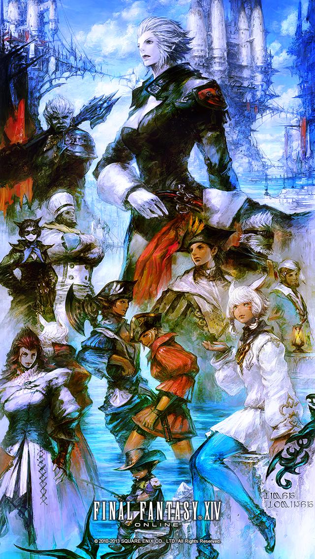 Final Fantasy Xiv A Realm Reborn Fan Kit 4 Day 1