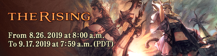 The Rising Returns on August 26! | FINAL FANTASY XIV, The